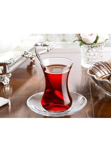 Madame Coco Carlotta 6'Lı Çay Bardağı Renkli